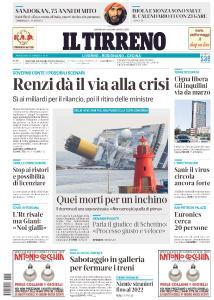 Il Tirreno Livorno - 13 Gennaio 2021