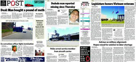 The Guam Daily Post – November 07, 2017