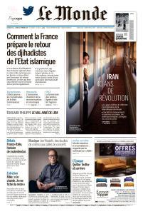 Le Monde du Dimanche 10 et Lundi 11 Février 2019