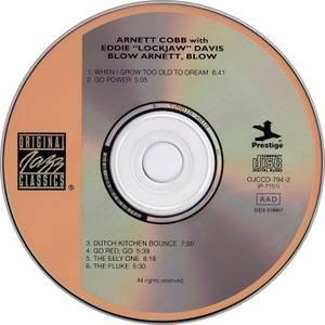 Arnett Cobb & Eddie 'Lockjaw' Davis - Blow, Arnett, Blow (1959) Remastered 1993