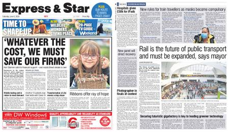 Express and Star City Edition – June 06, 2020