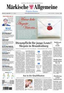 Märkische Allgemeine Prignitz Kurier - 08. August 2018