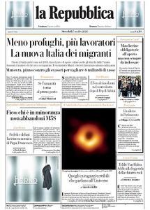 la Repubblica - 7 Ottobre 2020