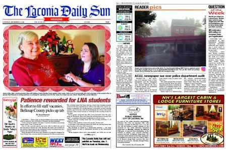 The Laconia Daily Sun – December 29, 2018