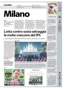 la Repubblica Milano - 29 Dicembre 2018
