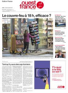 Ouest-France Édition France – 16 janvier 2021
