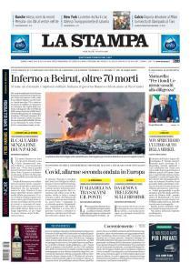 La Stampa Imperia e Sanremo - 5 Agosto 2020