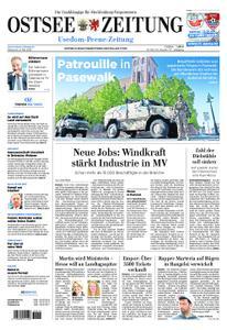 Ostsee Zeitung Wolgast - 08. Mai 2019