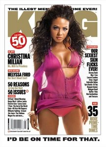 Christina Milian - King Magazine - Photo Shoot