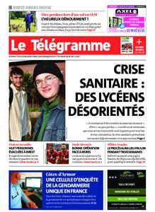 Le Télégramme Brest Abers Iroise – 14 décembre 2020