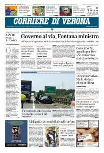 Corriere di Verona - 1 Giugno 2018