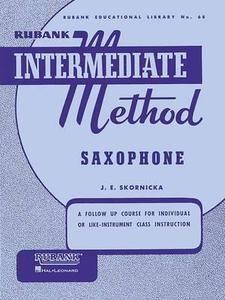Rubank Intermediate Method: Saxophone