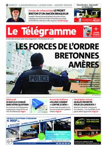 Le Télégramme Brest Abers Iroise – 10 juin 2020