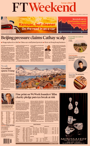 Financial Times Europe – 17 August 2019