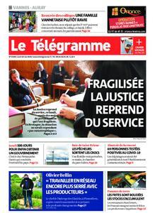 Le Télégramme Auray – 18 mai 2020