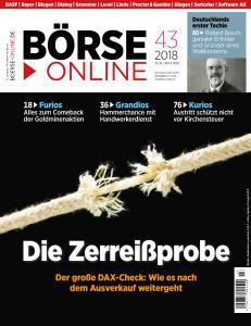 Börse Online - 25 Oktober 2018