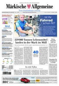 Neue Oranienburger Zeitung - 21. April 2018