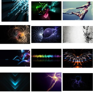 Wallpapers Abstractions. Set 1