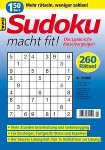 Sudoku macht fit - Nr.5 2020
