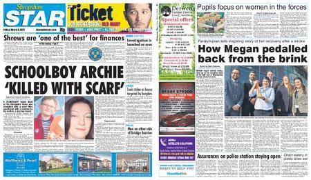 Shropshire Star Shrewsbury Edition – March 09, 2018