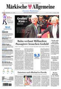 Märkische Allgemeine Zossener Rundschau - 16. Februar 2018