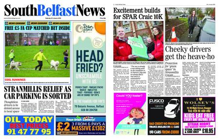 South Belfast News – January 24, 2019