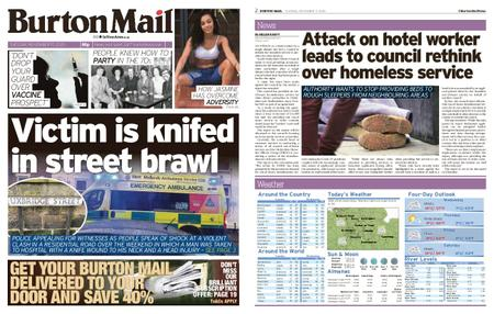 Burton Mail – November 17, 2020