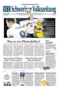 Schweriner Volkszeitung Hagenower Kreisblatt - 29. Juni 2019