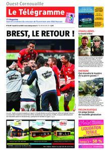 Le Télégramme Ouest Cornouaille – 11 mai 2019