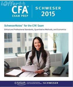 Kaplan Schweser CFA 2015: Level 1-3