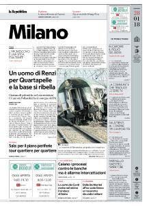 la Repubblica Milano - 28 Gennaio 2018