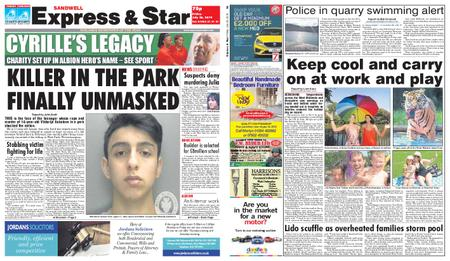 Express and Star Sandwell Edition – July 26, 2019