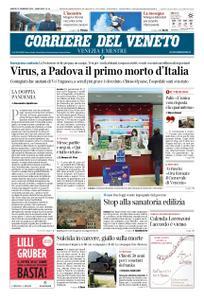 Corriere del Veneto Venezia e Mestre – 22 febbraio 2020