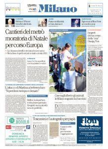 la Repubblica Milano - 8 Ottobre 2017