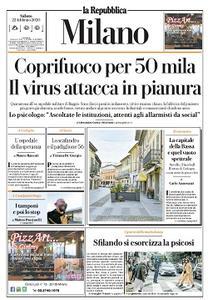 la Repubblica Milano - 22 Febbraio 2020