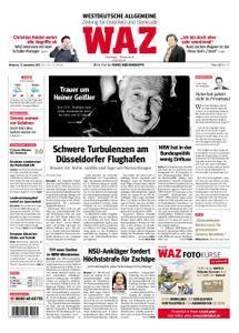 WAZ Westdeutsche Allgemeine Zeitung Oberhausen-Sterkrade - 13. September 2017