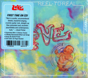 Love - Reel To Real (1974) Deluxe Edition, Expanded Remastered Reissue 2015