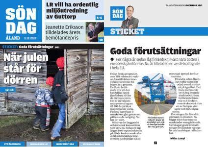 Ålandstidningen – 03 december 2017