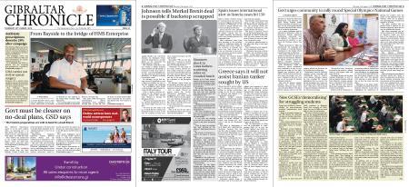 Gibraltar Chronicle – 22 August 2019