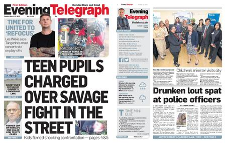 Evening Telegraph First Edition – March 12, 2019