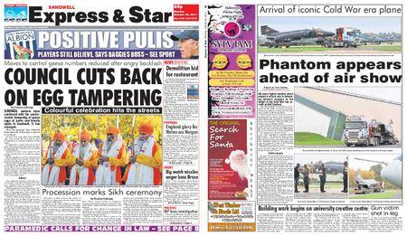 Express and Star Sandwell Edition – October 30, 2017