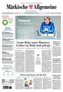 Märkische Allgemeine Dosse Kurier - 22. November 2018
