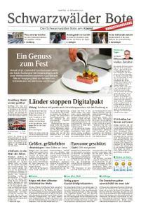 Schwarzwälder Bote Hechingen - 15. Dezember 2018