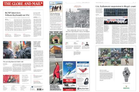 The Globe and Mail – September 12, 2019