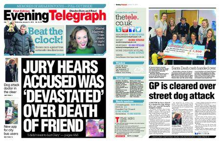 Evening Telegraph First Edition – January 31, 2018