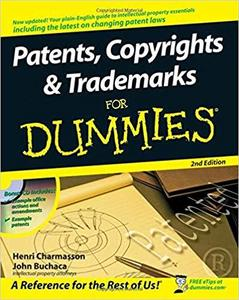 Patents, Copyrights and Trademarks For Dummies [Repost]