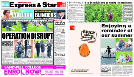 Express and Star Staffordshire Edition – August 24, 2019