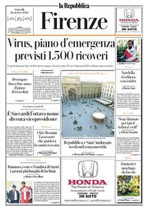 la Repubblica Firenze - 22 Ottobre 2020