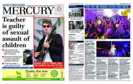 Hertfordshire Mercury – February 01, 2018