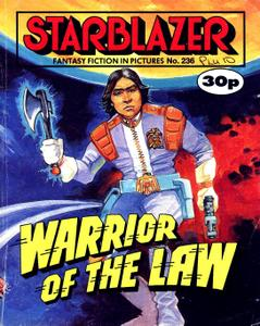 Starblazer 236-Warrior of the Law 1989 neercs